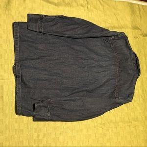 "71e5aa3a0e9 Alexa Chung Jackets   Coats - ""Alexa Chung for Ag"" light denim jacket"
